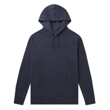 Lakai | Simple Pull Over Hoodie - French Navy