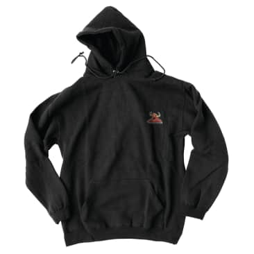 Toy Machine Monster Embroid Hood Black