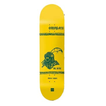 """Chocolate Skateboards Deck Be Nice One Off Raven Tershy 8.5"""""""