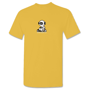 ROGER - Curbot Tee Gold