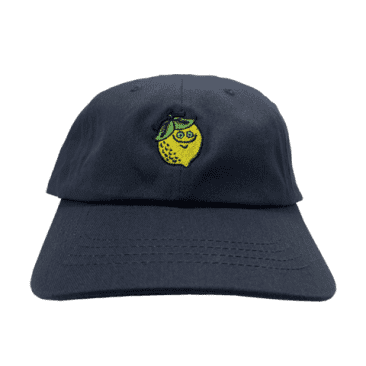 ROGER - Lime Patch Hat Navy