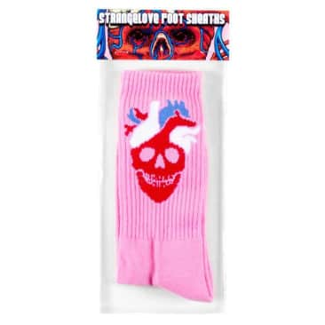 STRANGELOVE - Heart Logo Pink Foot Sheaths