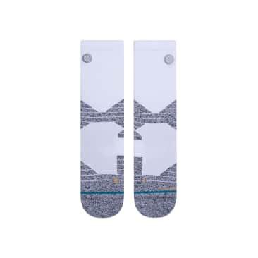 STANCE - Icon Sport Crew Socks White