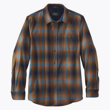 Board Shirt - Brown / Turquoise Ombre