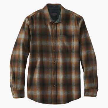 Board Shirt - Brown / Grey Mix Ombre