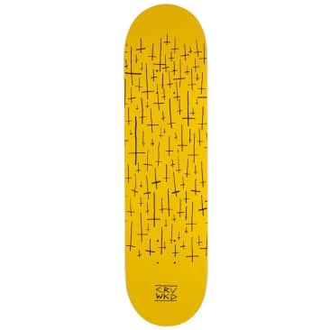 """Carve Wicked Skateboards Super Team Deck Yellow 8"""""""