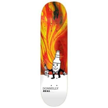 """Real Skateboards Donnelly Burning D.A.D.S Deck 8.5"""""""