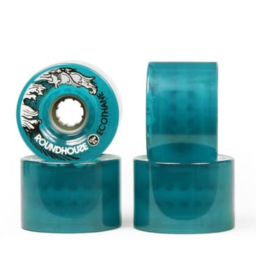 Carver Roundhouse Wheels Ecothane 65mm Aqua Mags (81A)