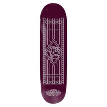 "Pass~Port Skateboards Gated Series Flower 8.5"""