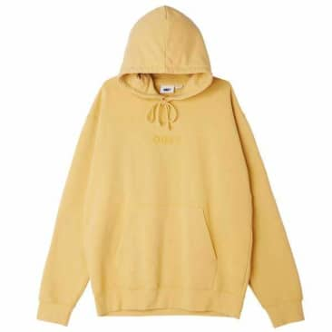 Obey Bold Ideals Hoodie Gold