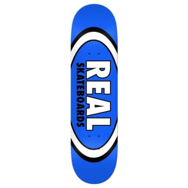 """Real Skateboards Team Classic Oval Deck Blue - 8.5"""""""