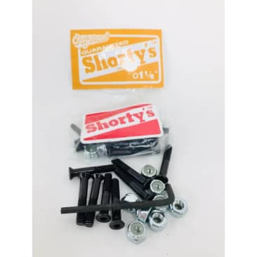 Shorty's - 1 and 1/8th inch Allen skateboard hardware.