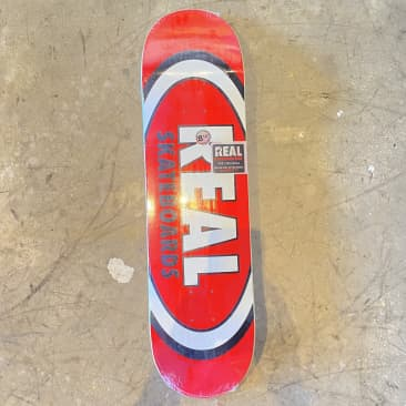Real - Classic Oval Skateboard Deck - 8.12