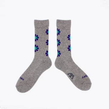 Rostersox Peace Sock - Grey