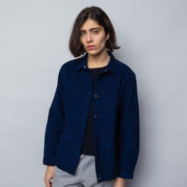 Folk Womens Assembly Jacket: Washed Ink Cord