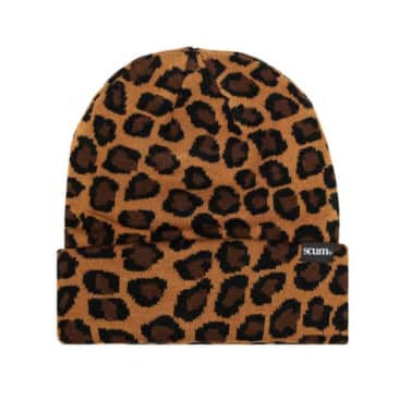 Scum - Beanie (leopard print)