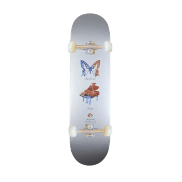 Magenta Butter Fly Deck complete 8.125