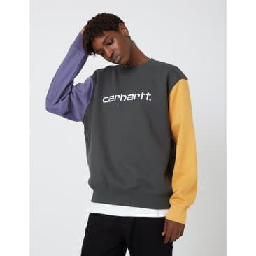 Carhartt-WIP Tricol Sweatshirt - Dark Teal