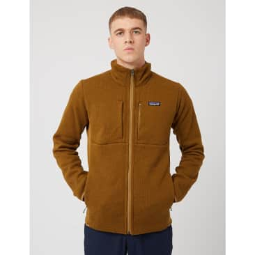 Patagonia Light Weight Better Sweater Jacket - Mulch Brown