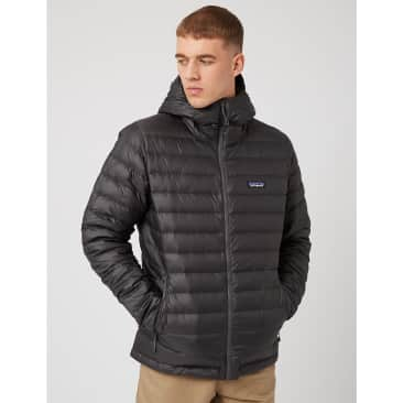 Patagonia Down Sweater Hooded Jacket - Forge Grey