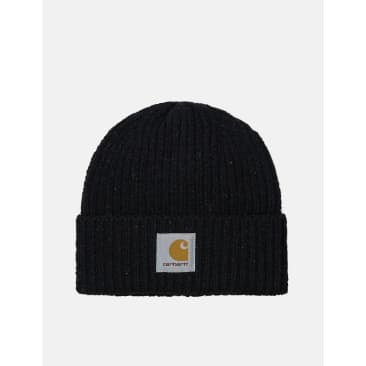 Carhartt-WIP Anglistic Beanie Hat - Speckled Black
