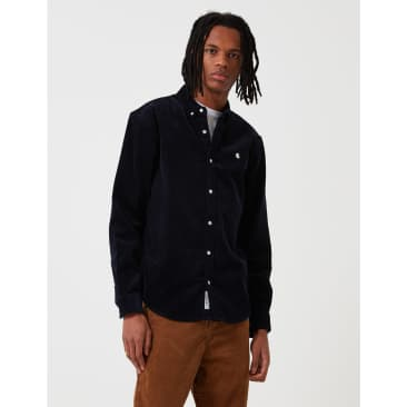Carhartt-WIP Madison Cord Shirt - Astro Navy/Wax