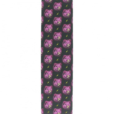 Grizzly High Voltage Pink Griptape 9x33