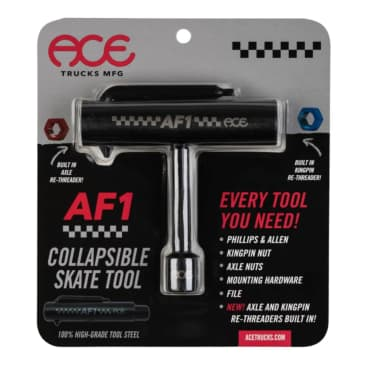 ACE AF1 Collapsible Skate Tool with rethreader