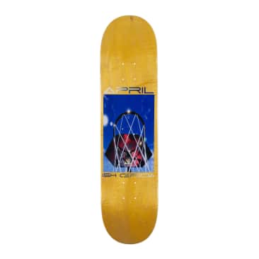 """APRIL ISH CEPEDA ALL NET DECK - YELLOW - 8.38"""""""