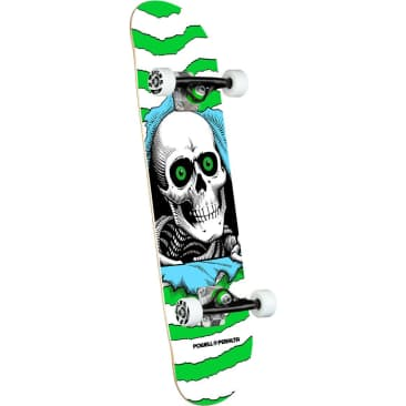POWELL PERALTA Ripper One Off Green 7.5 Skateboard Complete