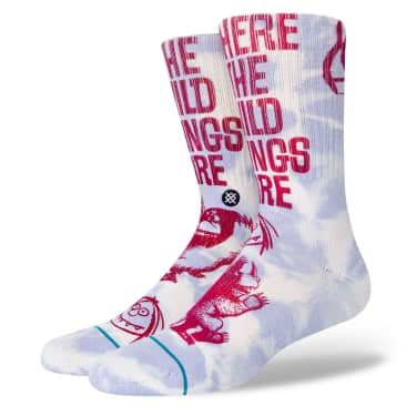 STANCE Where The Wild Things Are Socks Blue