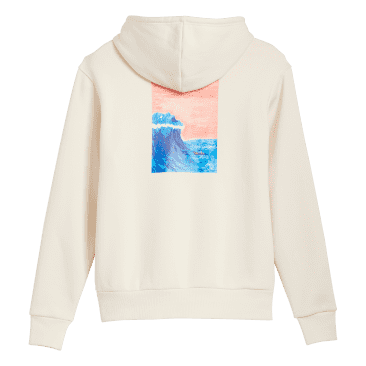 ADIDAS Dill Graphic Pullover Hoodie Wonder White/Multicolor
