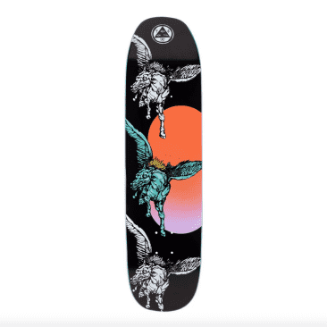 Peggy on Son of Moontrimmer (Black) Deck 8.25