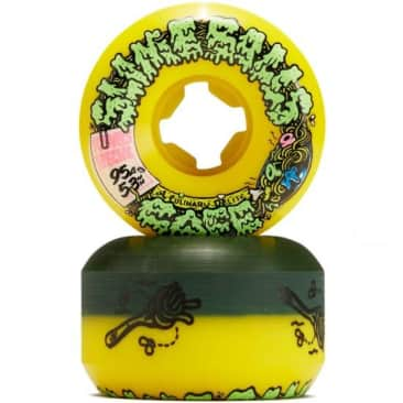 53mm Double Take Cafe Vomit Mini (Yellow/Green)