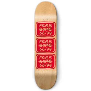 Free Dome Skateboards - Stacked Deck 8.5