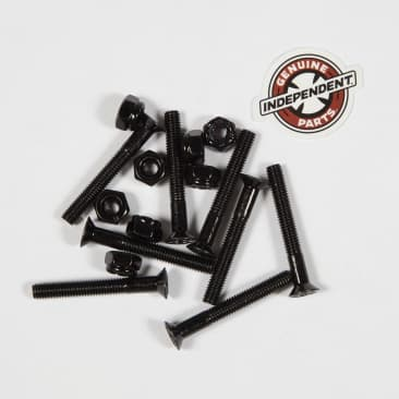 """Indy Cross Bolts Hardware - Phillps 1.5"""" Black"""