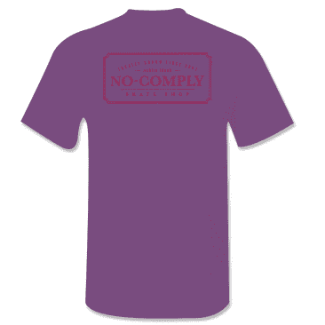 No-Comply Locally Grown Shirt - Purple Ruby