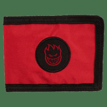 Spitfire Bighead Bi-Fold Wallet - Red