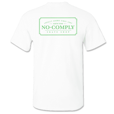 No-Comply Solar Activated Locally Grown Shirt - White