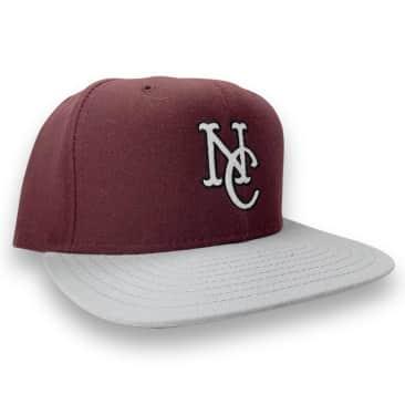 No-Comply NC '92 New Era Snap Back - Maroon Grey