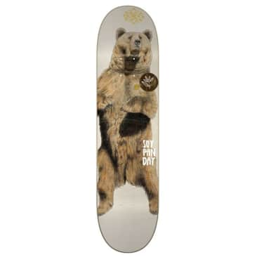 "Magenta Soy Panday Zoo Skateboard Deck 7.75"""
