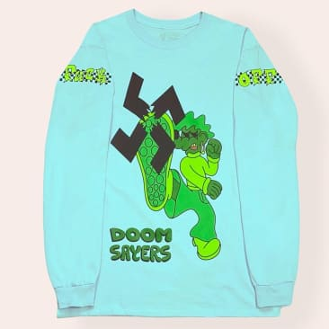 Doom Sayers Lil Cool Stomp Out Long Sleeve tee