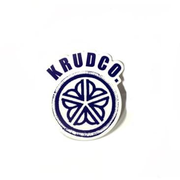 Krudco Patch Flower City Logo Sticker
