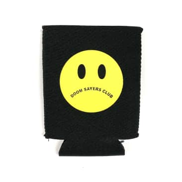 Doom Sayers Club Skateboards Unhappy Face Magnetic Coozie