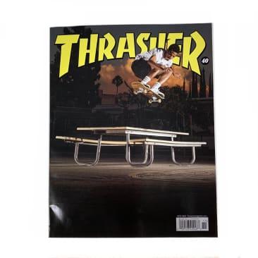 Thrasher Skateboard Magazine November 2021 Issue #496