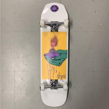 Welcome Skateboards Nora Vasconcellos Shaped Complete 8.12