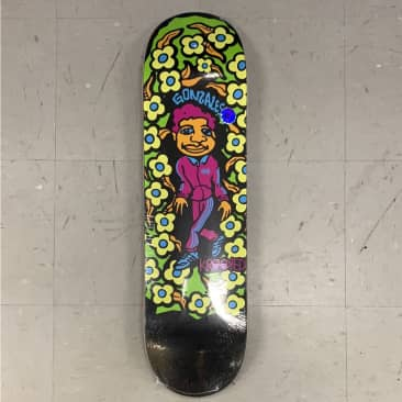 Krooked Skateboards Gonz Sweatpants Blacklight Deck