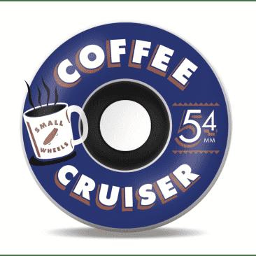 SML. Wheel Co. Coffee Cruisers Blue Heat 54mm 78a
