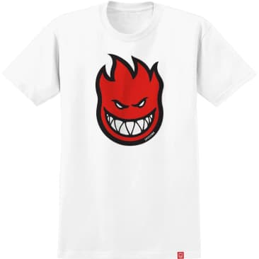 SPITFIRE Youth Bighead Fill Tee White/Red