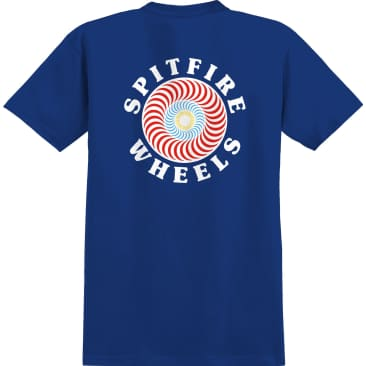 SPITFIRE Youth OG Classic Fill Tee Royal